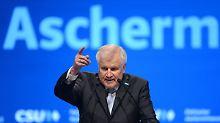 CSU schießt sich auf Schulz ein: Mit dem Dickschädel zurück in die Zukunft