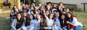 """""""Saat des Friedens"""": Jugendliche schließen Nahost-Abkommen"""