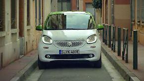 Leise in Toulouse: So fährt sich der Smart forfour in der E-Version