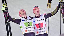Goldene Kombinierer in Lahti: Rydzek und Frenzel triumphieren bei Ski-WM