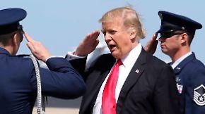 """Pence und Kushner unter Druck: Trump genießt sein """"südliches Weißes Haus"""""""