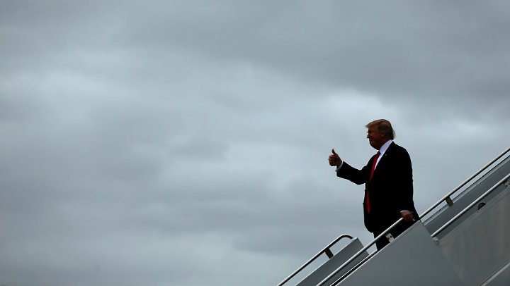 Das Wochenende verbringt Trump in Florida.
