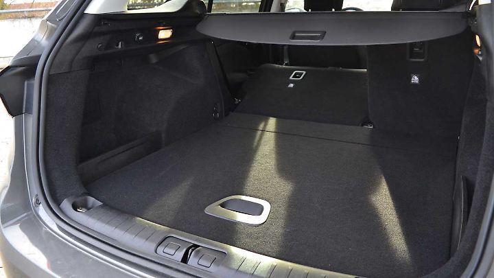 550 Liter Fasst der Kofferraum des Fiat Tipo SW bei aufrechter Rückbank.