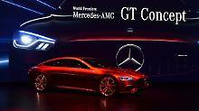 Die Gene sind eineutig Mercedes GT, die Größe  E-Klasse, die Performance kommt aus der Formel 1.