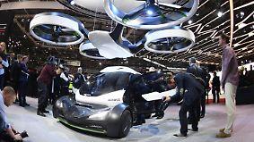 Über den Stau hinwegfliegen: Airbus baut jetzt Flugautos