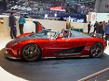 In Genf gibt es Autos, die mit ihren alternativen Antrieben tatsächlich den Puls beschleunigen.