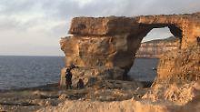 """Trauriger Tag"": Felsentor auf Malta stürzt ein"