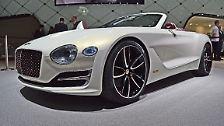 Zum einen könnte ein solch dynamisches und handliches Cabriolet helfen, das Image der Marke zu verjüngen. Zum anderen wird der EXP 12 elektrisch angetrieben, was sichert eine seriennahe Antriebszukunft andeutet.