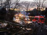 """""""Kleine Zelle"""" über Unterfranken: Tornado deckt mehrere Dächer ab"""