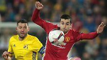 Lyon-Comeback überrumpelt Rom: Man United quält sich, Genk im Torrausch