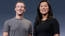 Ode an die Frauen: Mark Zuckerberg wird wieder Vater