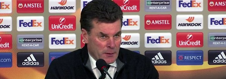 "Dieter Hecking zum Euro-League-Duell: ""Wir müssen uns reinhängen"""