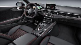 Audi hat den RS5 seiner Natur entsprechend sportlich eingerichtet.