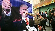 Funkstille beendet: Trump lädt Abbas nach Washington ein