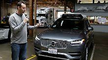 Streit um selbstfahrende Autos: Google will Ubers Entwicklungen stoppen