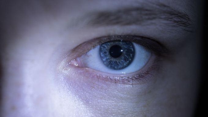 Das Auge scheint auch Auskunft über Entscheidungssicherheit zu geben.