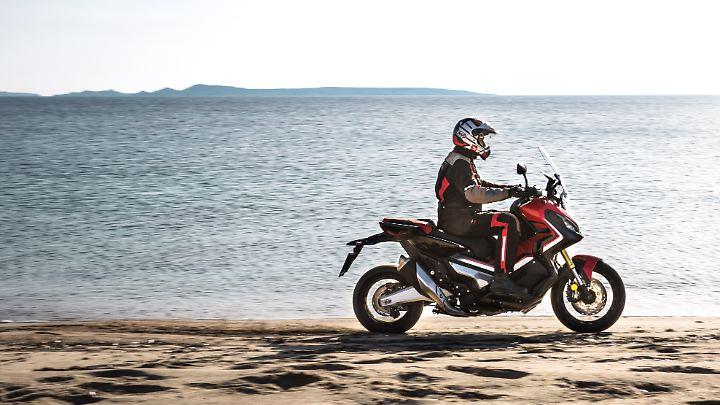 Die Honda X-ADV ist so etwas wie das SUV unter den Zweirädern.