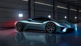 Vor gut einem Jahr wurde der Elektrosportwagen EP9 mit 1360 PS auf der CES in Las Vegas präsentiert.
