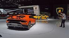 Mit 640 PS erhöht sich die Leistung des Lamborghini Hurycan Performante um 30 PS.