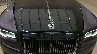 Die schöne Welt der Luxusautos: Rolls-Royce schmückt Ghost mit 1000 Diamanten