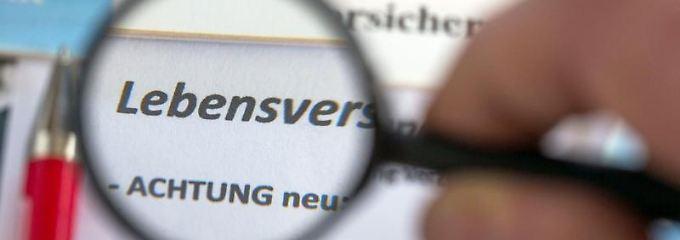Bei der Lebensversicherung kann die Überprüfung des Widerrufs einige 1000 Euro extra bringen.