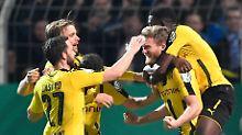 Kampfansage an den FC Bayern: BVB quält sich verdient ins Pokal-Halbfinale