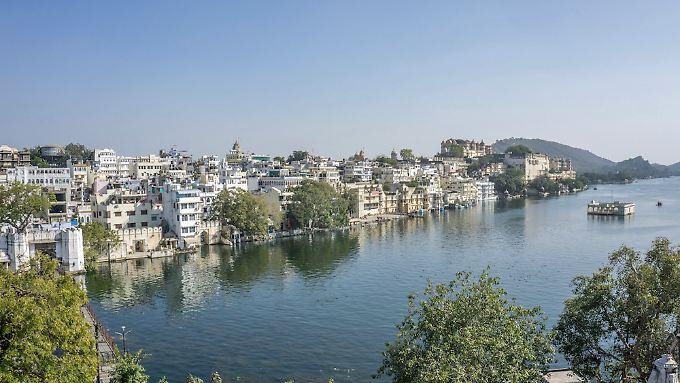 Udaipur ist die weiße Stadt.