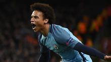 """""""Wie der junge Gareth Bale"""": """"Beängstigender"""" Sané lässt City träumen"""
