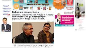 """In der türkischen Zeitung """"Avrupa Sabah"""" wird Mürvet Öztürk für ihr Engagement angefeindet."""