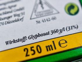 Experten der europäischen Chemiekalienagentur halten Glyphosat für nicht krebserregend.