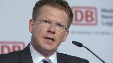 Fernverkehr stabilisiert sich: Bahnchef Lutz startet mit schwarzen Zahlen