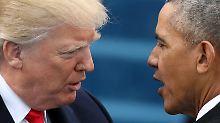Fehler bei Vorwürfen gegen Obama: Trump verstrickt sich in Widersprüche