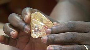 706 Karat schwer: Pastor findet Riesendiamanten in Sierra Leone