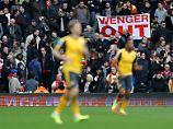 Nächste Pleite, wieder Proteste: Arsenals Wenger kündigt Entscheidung an