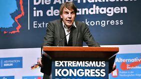 BKA-Terrorexperte Uwe Kemmesies auf dem Kongress.