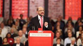 """""""Ich will Bundeskanzler werden"""": Martin Schulz ist neuer SPD-Chef"""