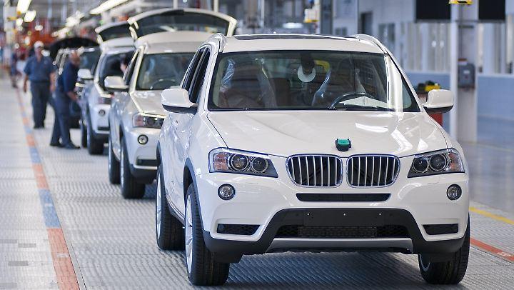 BMW baut in dem Werk in Spartanburg unter anderem den X3.