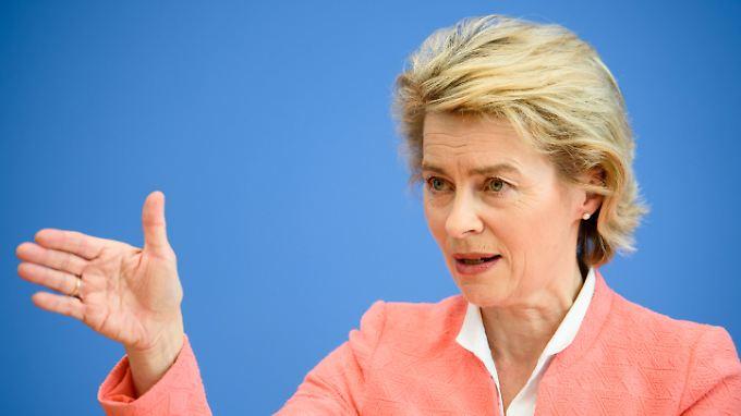 """""""Es gibt kein Schuldenkonto in der Nato"""": Von der Leyen kontert Trumps Vorwürfe"""