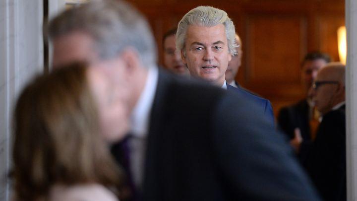 Geert Wilders hat bei Weitem nicht so viele Stimmen bekommen wie prognostiziert.