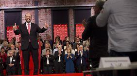 100 Prozent und viel Gefühl: Forderung an Schulz nach Inhalten wird lauter