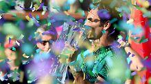 """""""Du bist ein Arschloch"""": Federer spielt weiter im Rotwein-Modus"""