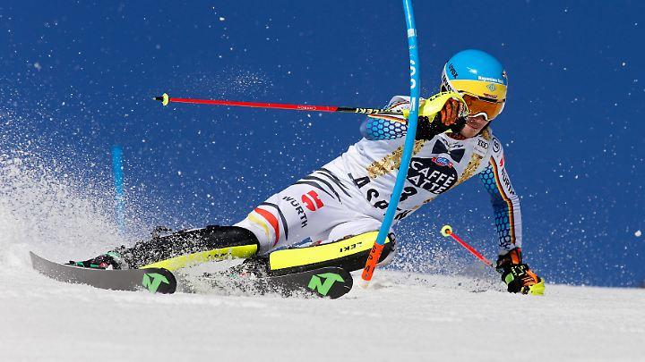"""Einmal mehr der """"Podestretter"""" des deutschen Skiverbands: Felix Neureuther."""