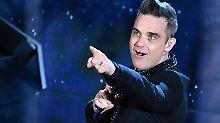 """""""Wir können gewinnen"""": Robbie Williams ärgert russische ESC-Fans"""