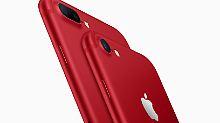 iPad wird günstiger: Apple verkauft jetzt rote iPhones