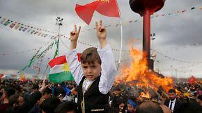 Anspannung vor Referendum: Kurden feiern Frühlingsfest Newroz