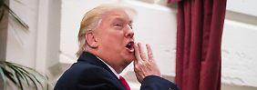 Trumps beeindruckende Bilanz: 62 Tage im Amt, an zwei Tagen nicht gelogen