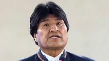 """USA ziehen angeblich die Fäden: Morales: Venezuela droht """"Staatsstreich"""""""