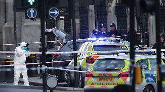 """Mehrere Tote bei Anschlag in London: Attentäter """"vom internationalen Terrorismus inspiriert"""""""