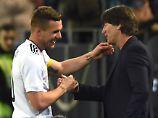 Der Abschied von Lukas Podolski.