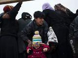 Flüchtlingsstrom schwillt an: 400.000 Menschen in Mossul eingekesselt